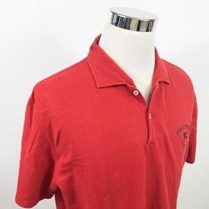 Polo Sport x Ralph Lauren Mens XL Polo Shirt Rust